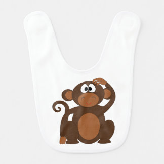 MOMMYS LITTLE MONKEY BIB
