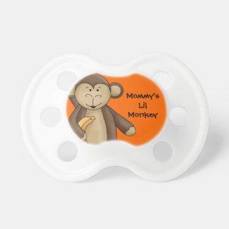 Mommy's Little Monkey Cute Cartoon For Baby Pacifiers