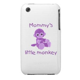 Mommy's Little Monkey (purple) Case-Mate iPhone 3 Case