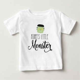Mommy's Little Monster Baby and Kids Halloween Tee