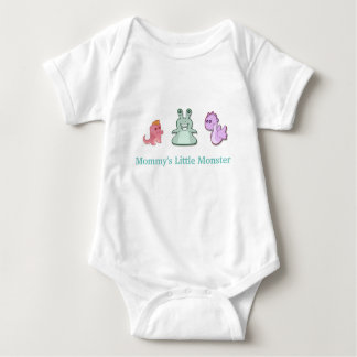 Mommy's Little Monster Baby Bodysuit