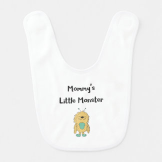 Mommys Little Monster Bib