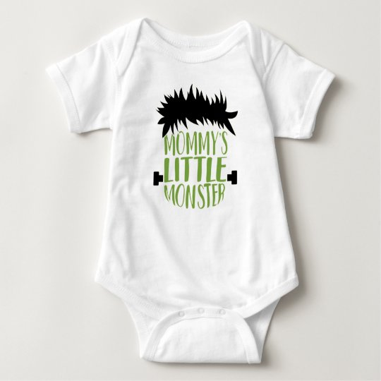 Mommy's Little Monster Halloween Baby Bodysuit