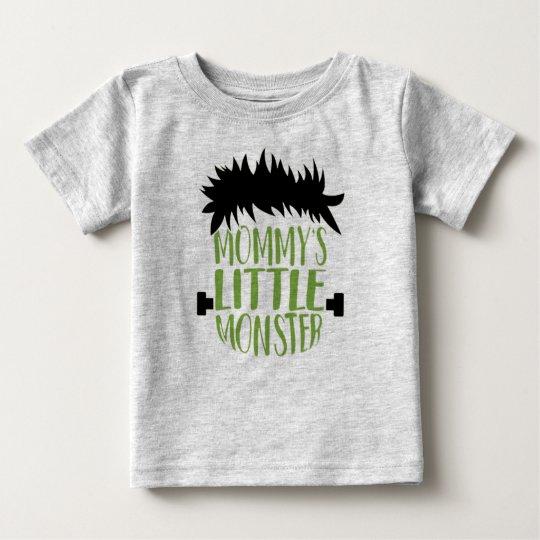 Mommy's Little Monster Halloween Baby T-Shirt