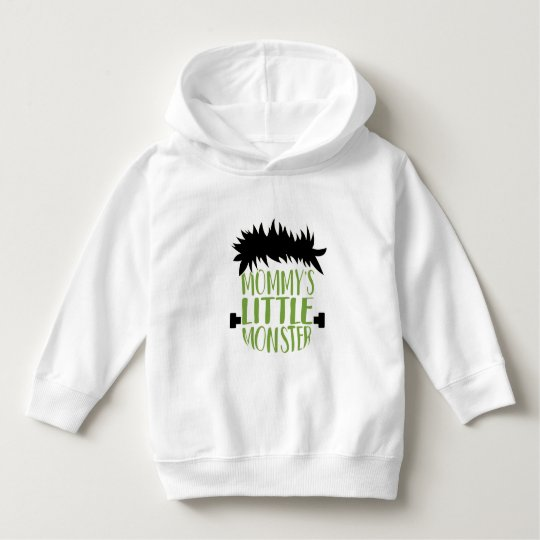 Mommy's Little Monster Halloween Hoodie