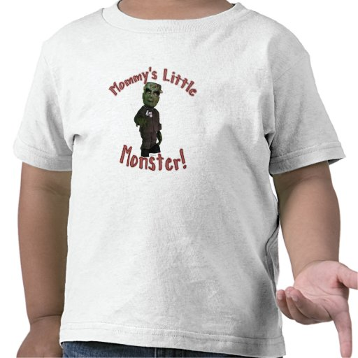 Mommy's Little Monster Tshirts