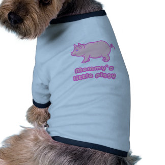 mommy's little piggy pet clothing