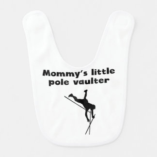 Mommy's Little Pole Vaulter Bib