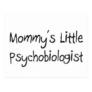 Mommys Little Psychobiologist Postcard