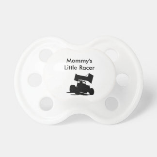 mommy's little racer sprint car pacifier