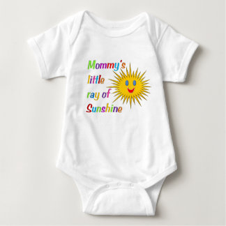 """Mommy's little ray of sunshine"" baby bodysuit"