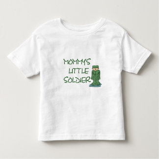 Mommys little soldier toddler t-shirt
