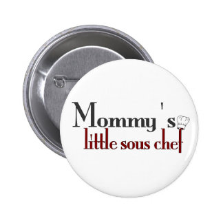 Mommy's little sous chef pins