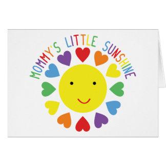 Mommy's Little Sunshine Card