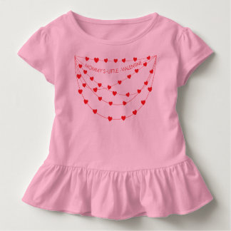 Mommy's Little Valentine | Pink Toddler Outfit Toddler T-shirt