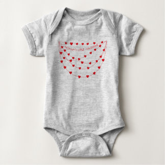 Mommy's Little Valentine | Valentine's Day Outfit Baby Bodysuit