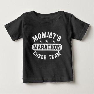 Mommy's Marathon Cheer Team Baby T-Shirt