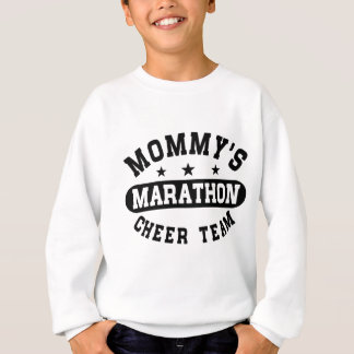 Mommy's Marathon Cheer Team Sweatshirt