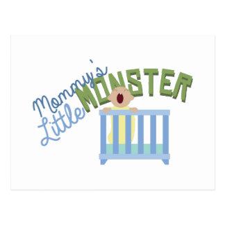 Mommys Monster Postcard