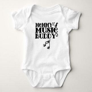 Mommy's Music Buddy Baby Bodysuit