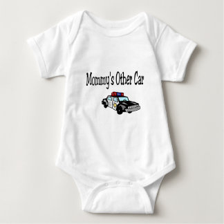 Mommy's Other Car Baby Bodysuit