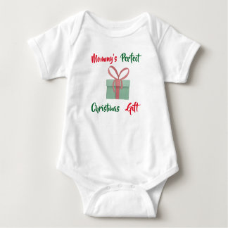 Mommy's Perfect Christmas Gift Baby Bodysuit