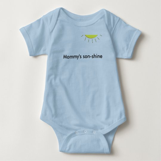 Mommy's sonshine baby bodysuit