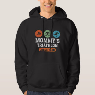 Mommy's Triathlon Cheer Team Hoodie