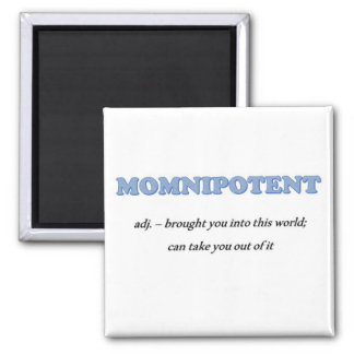 MOMNIPOTENT sturdy square magnet