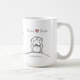 Momo heart Dodo Coffee Mug