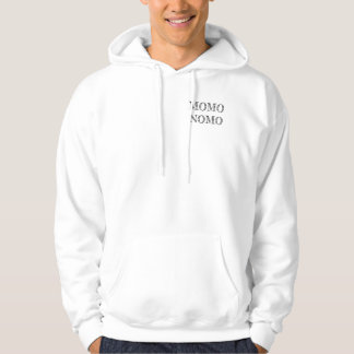 MOMO NOMO Men's White Sweatshirt