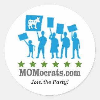 MOMocrats Stickers