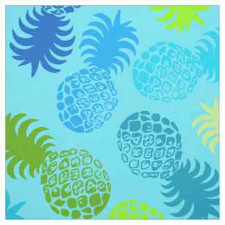 Momona Hawaiian Tropical Pineapple Fabric