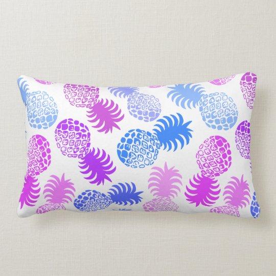 Momona Hawaiian Tropical Pineapple Reversible Lumbar Pillow