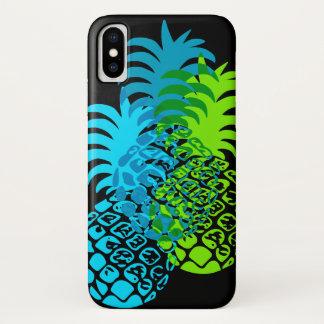 Momona Pineapple Hawaiian Tropical iPhone X Case