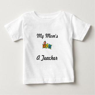 Mom's a Teacher Infant & Toddler T-Shirt