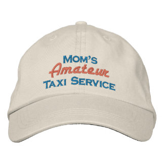 Mom's Amateur Taxi Service Baseball Cap