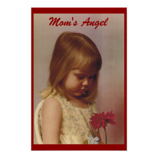 mom's angel poster