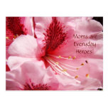 Mom's are Everyday Heroes! postcards Rhodies