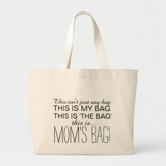 Mom's Bag, Large Shopping Tote for Mom