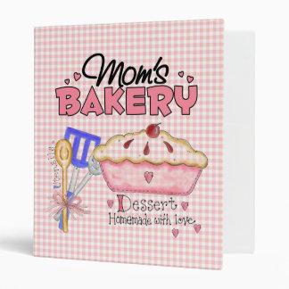 Mom's Bakery Recipe Binder