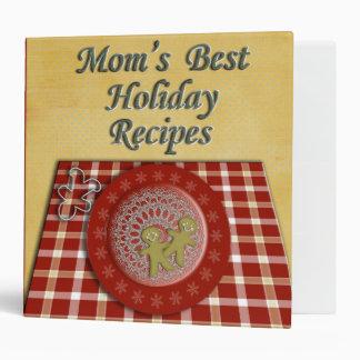 Mom's Best Holiday Recipes Binder