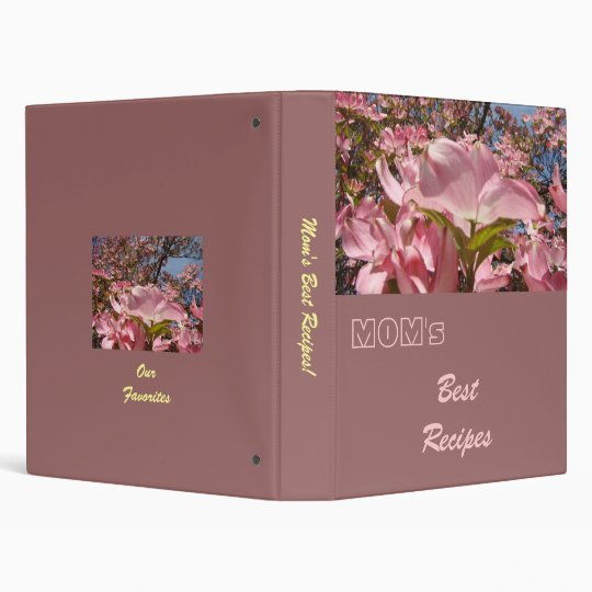 MOM's Best Recipes binder Our Favourites binder