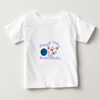 Moms Bowling Buddy Baby T-Shirt