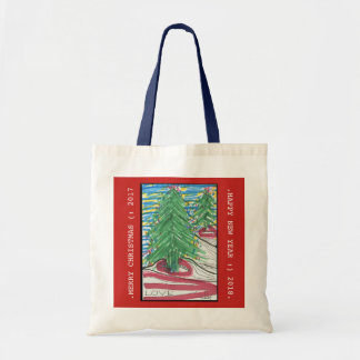 Moms Christmas Tree, Tote Bag