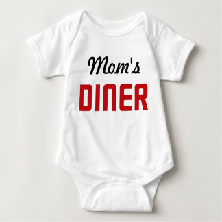 Mom's Diner Baby Bodysuit