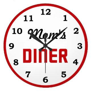 Mom's Diner Clocks