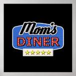 Mom's Diner Sign