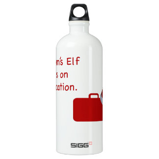 Mom's Elf is on vacation SIGG Traveler 1.0L Water Bottle