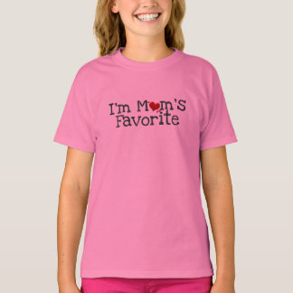 mom's favorite mothers day valentine's day shirt